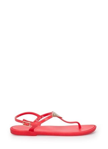 Emporio Armani Sandalet Kırmızı